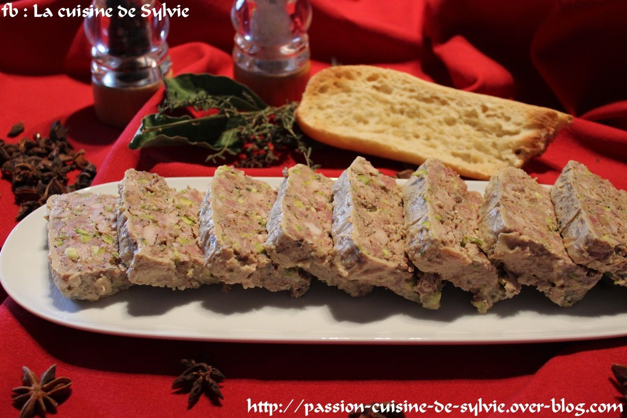 Terrine de faisan passion cuisine de - Passion de cuisine over blog com ...