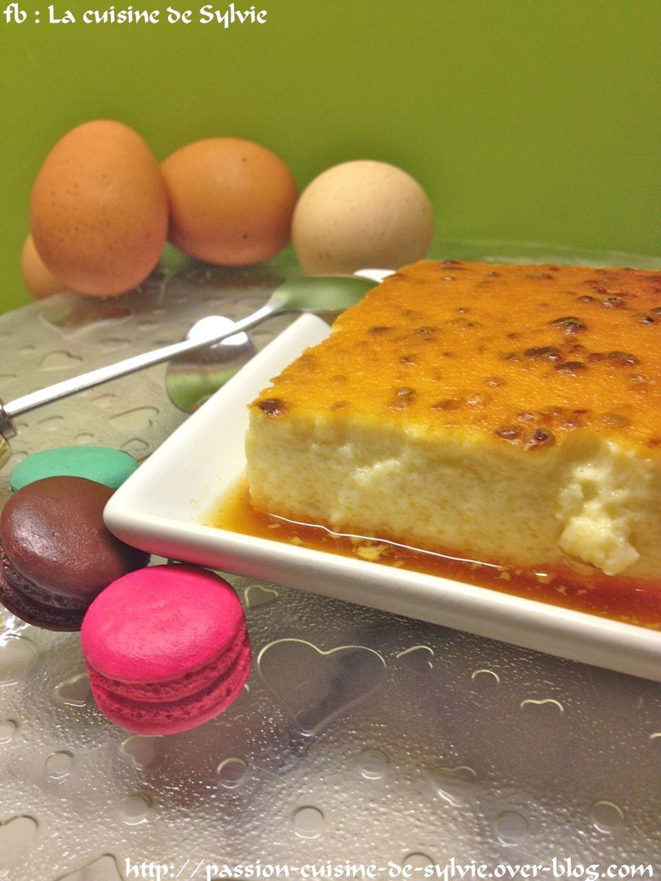 Flan aux œufs au caramel, un grand classique