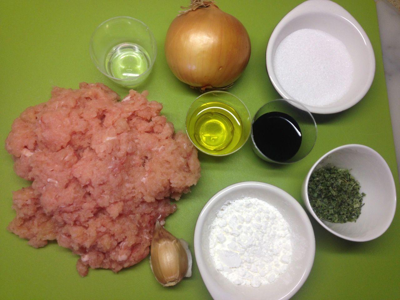 Dim sum (raviolis chinois) à la farine de froment farcis au porc caramélisé