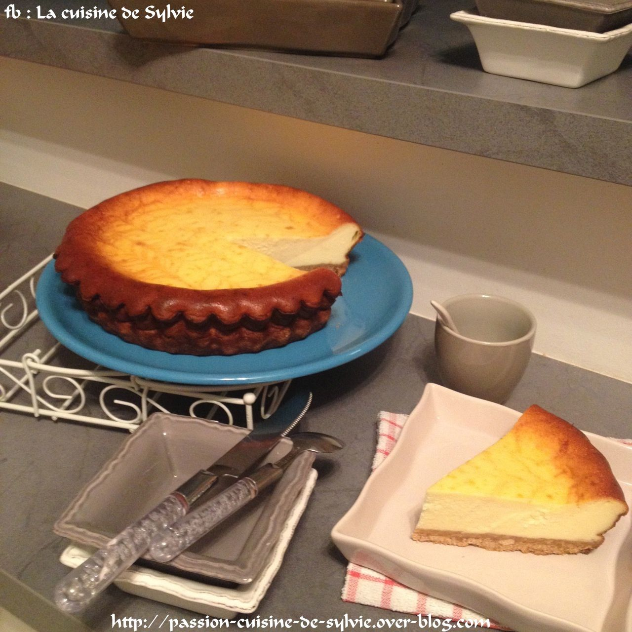 Cheesecake petits beurres / petits suisses
