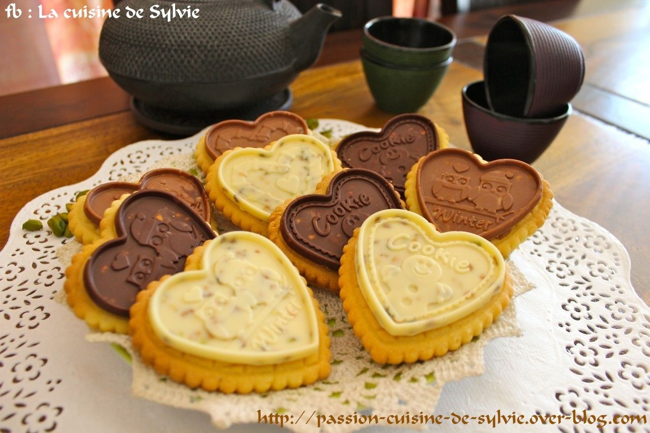 Cookie Choc pistache-coco et tablette de chocolat