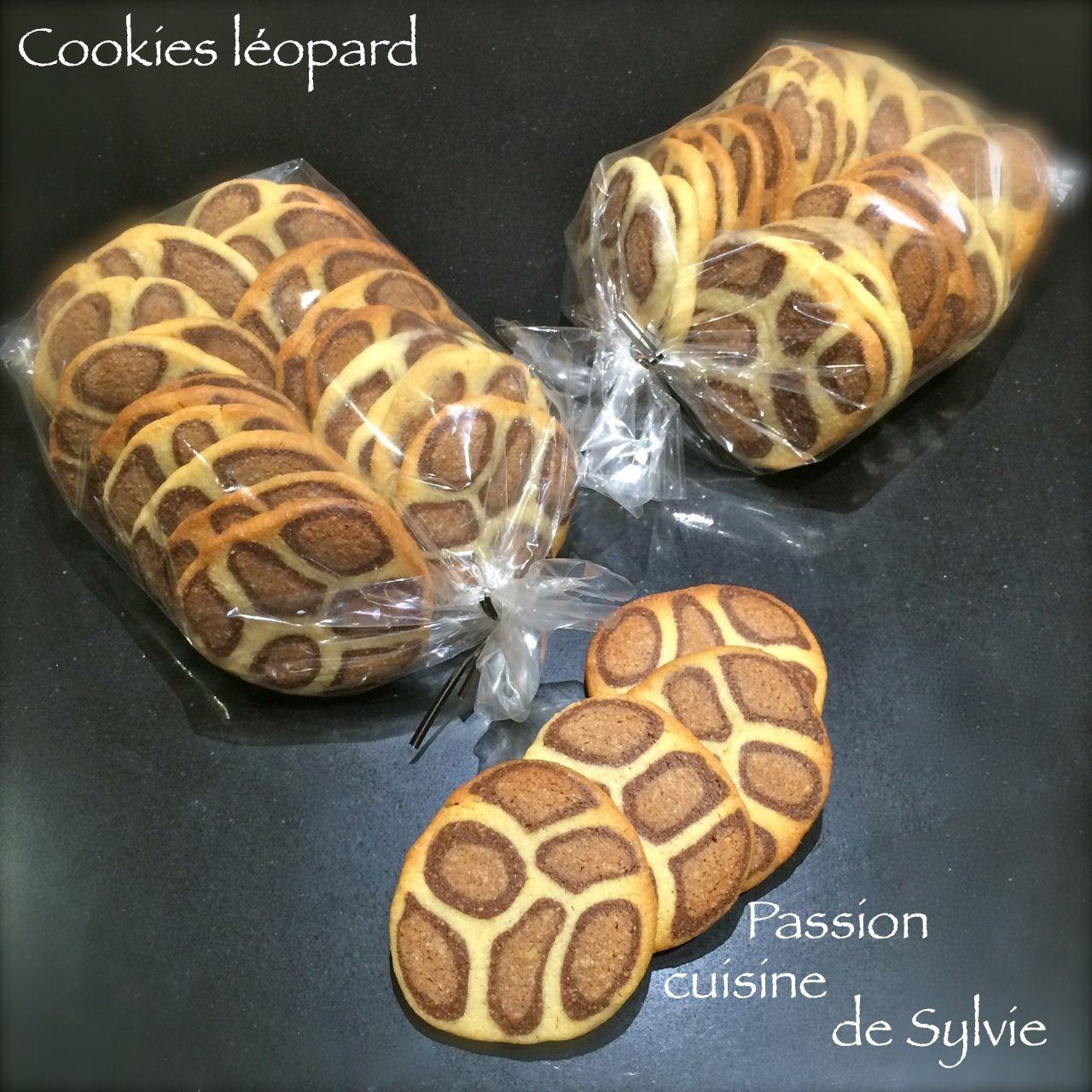 Sablés léopard vanille chocolat