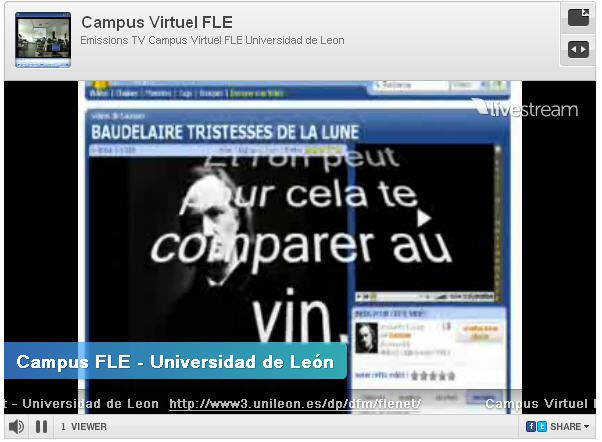 Emissions TV  du Campus Virtuel FLE