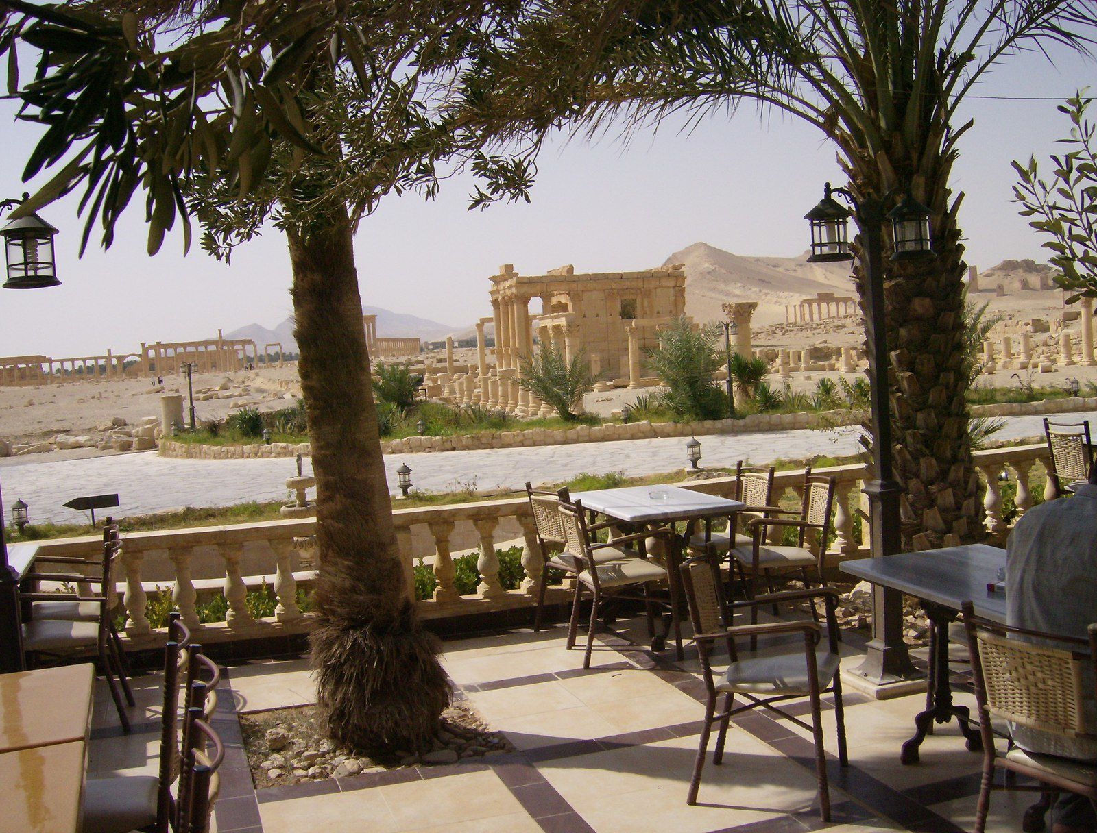 Le site de Palmyre visité en 2010