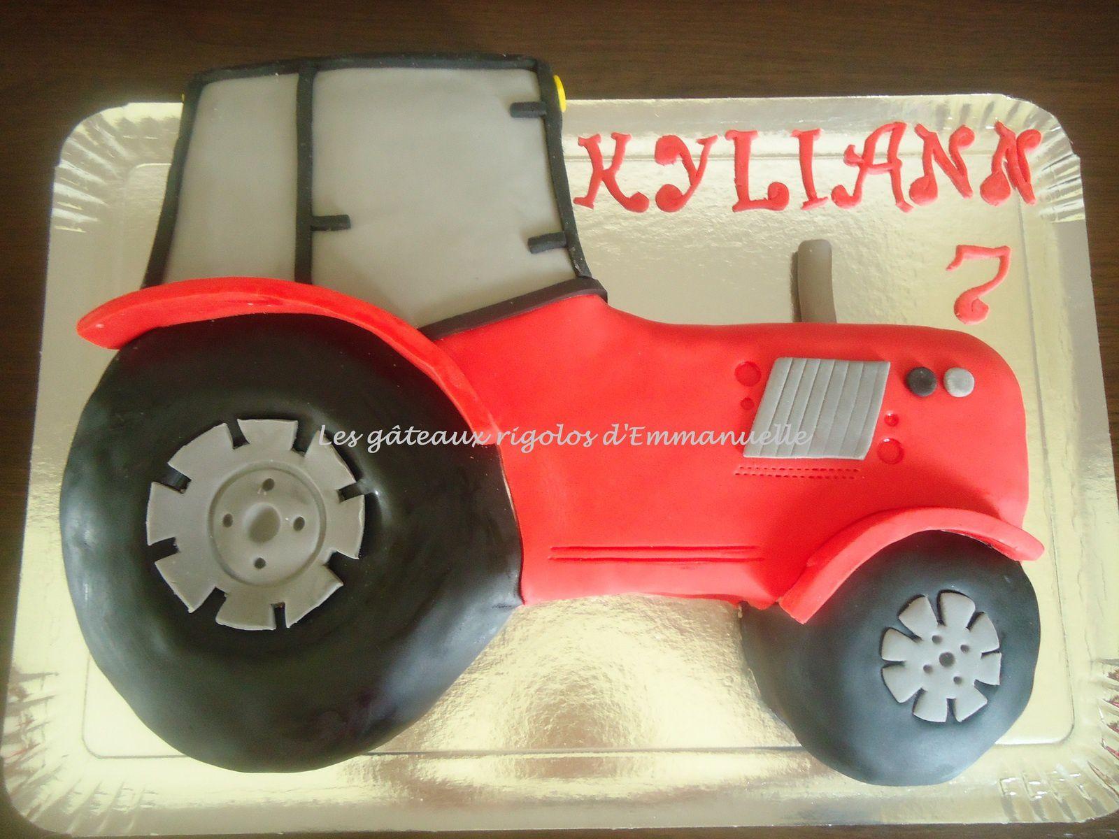 Le tracteur les g teaux rigolos d 39 emmanuelle - Tracteur rigolo ...