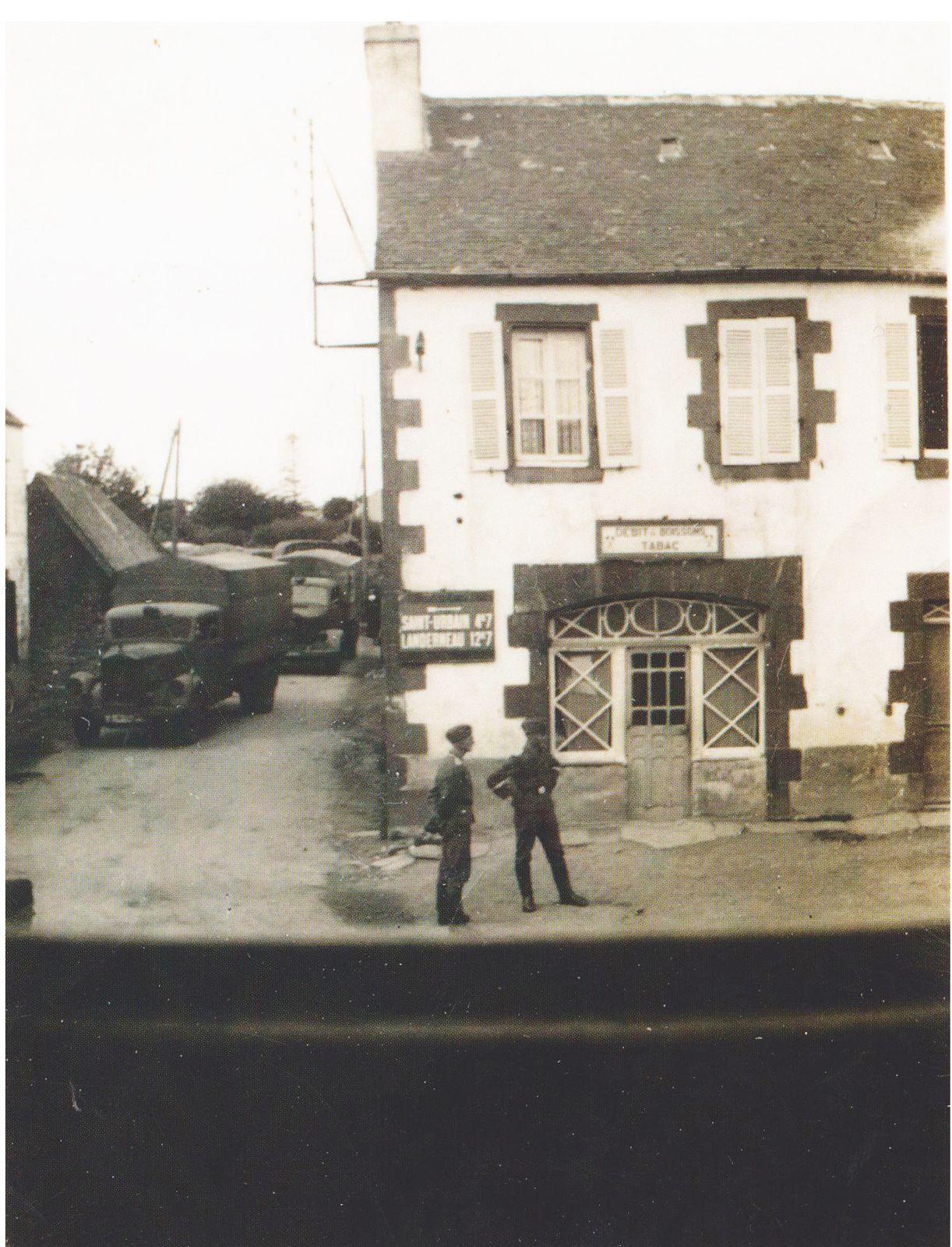 Août 1941 : les troupes allemandes traversent Irvillac..