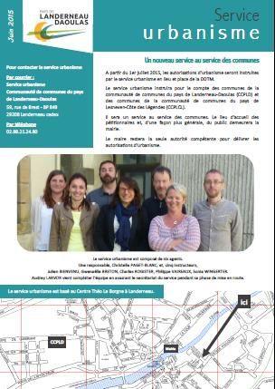 Urbanisme : un nouveau service..