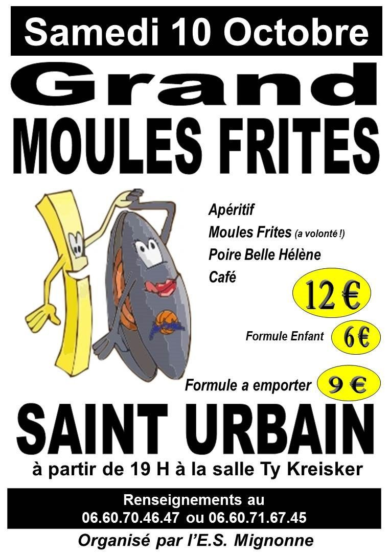 GRAND MOULES-frites...