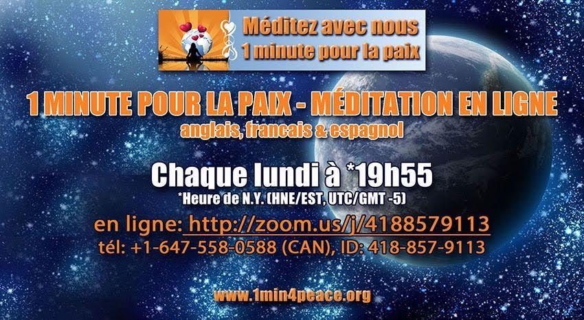 ALERTE NUCLEAIRE : MEDITATION PLANETAIRE