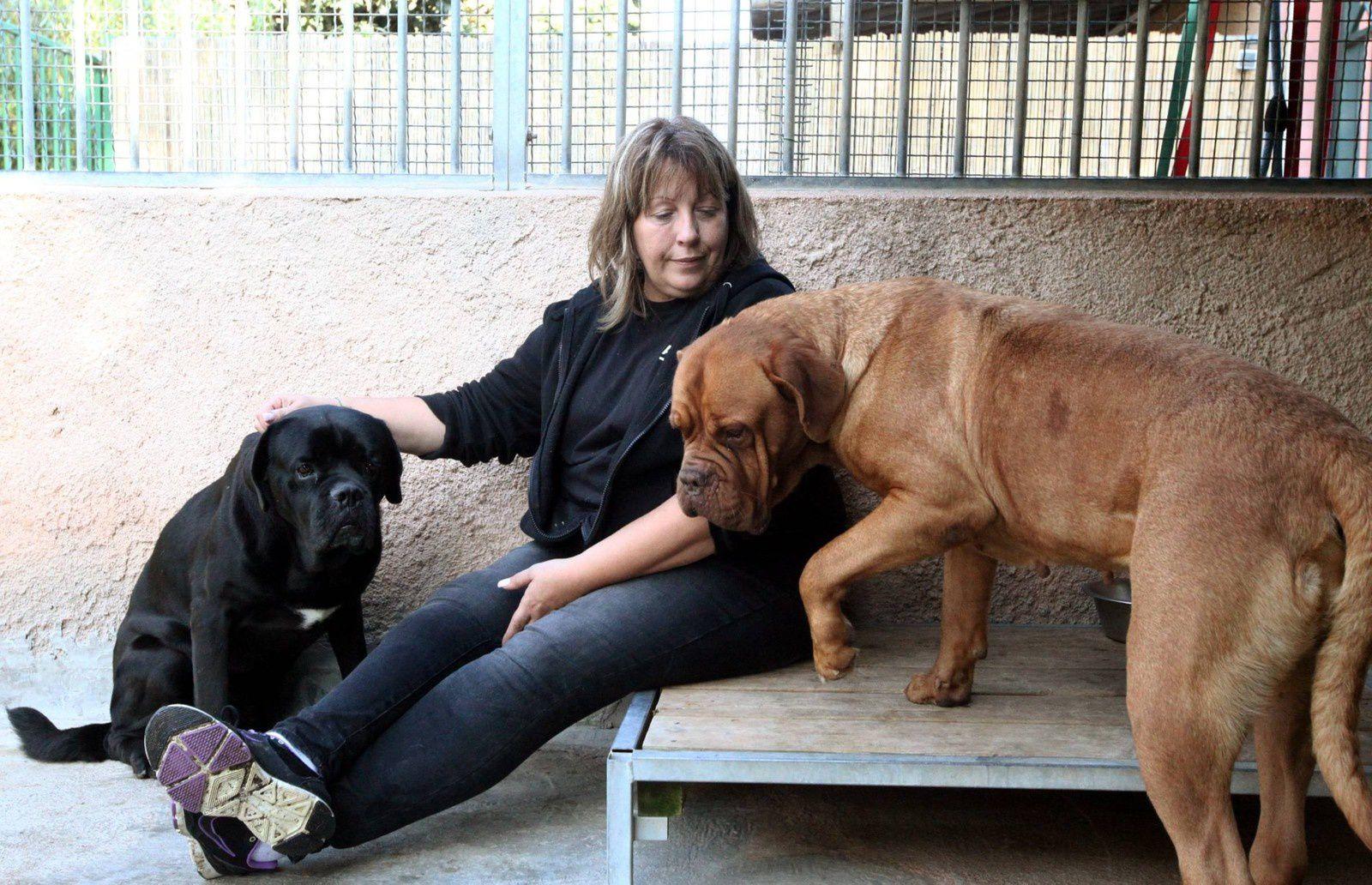 Patricia Lanini est la responsable du refuge de Carros depuis 5 ans.
