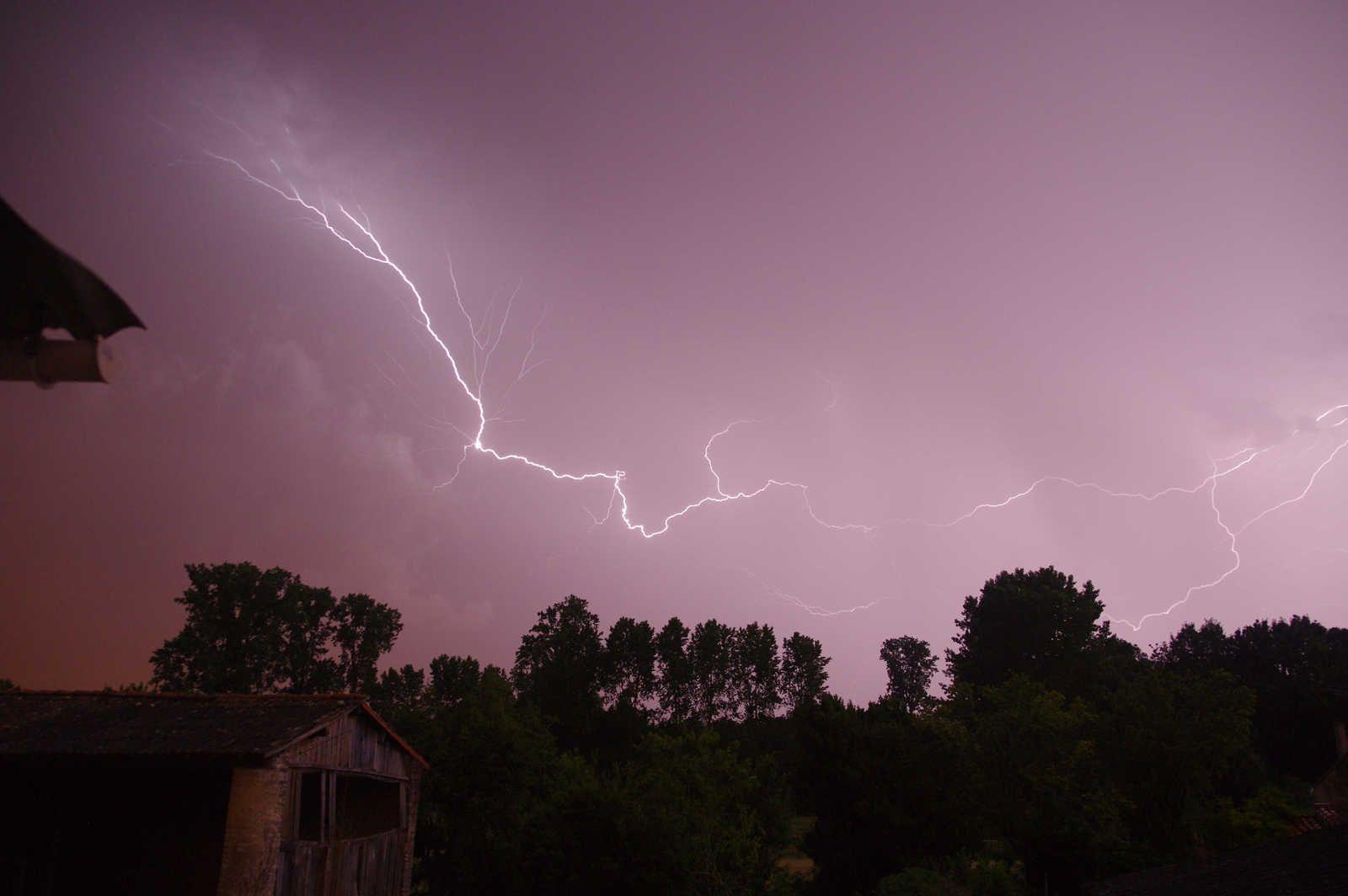 Nuit d'orages