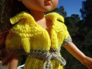 Tuto blouson pour poupée chéries de corolle.