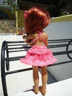 Jupe pour poupée chéries de corolle.