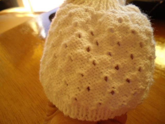 Tuto tunique blanche &quot&#x3B; trou-trou&quot&#x3B;pour poupée chéries de corolle