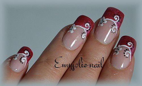 Romantic Flower (Passion Nail Art)