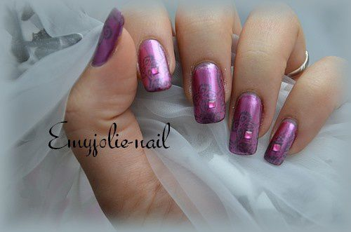 Orchid Pink et son stamping