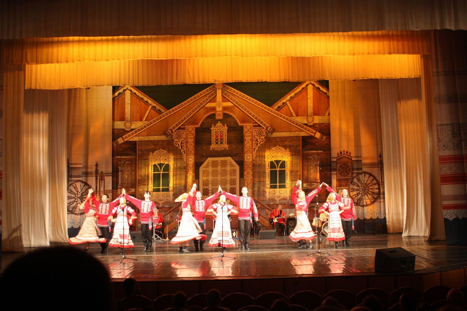 Petite soirée Folklorique Russe