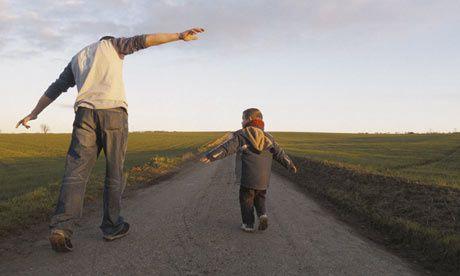 Avec Papa, je peux voler !