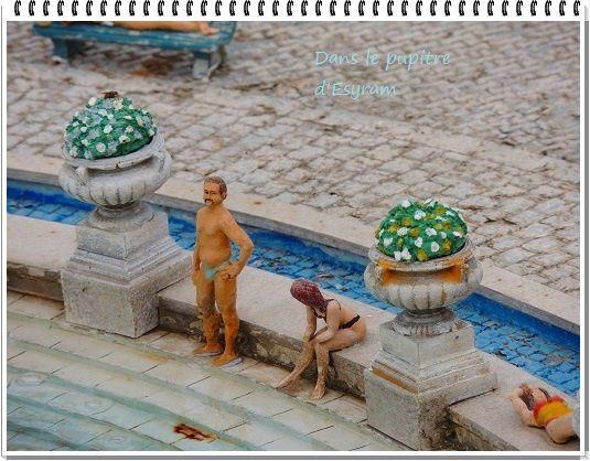 Les détails des maquettes de mini Europe !