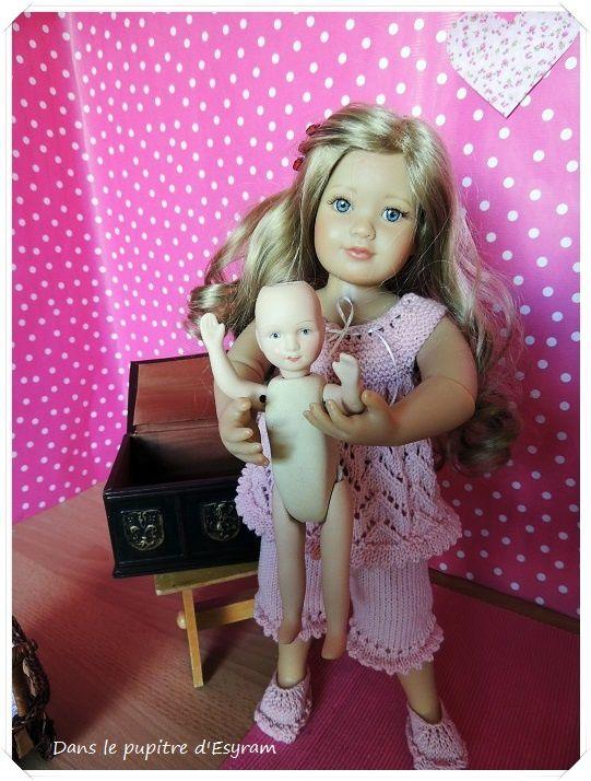 Une petite soeur pour Paloma et Lilou
