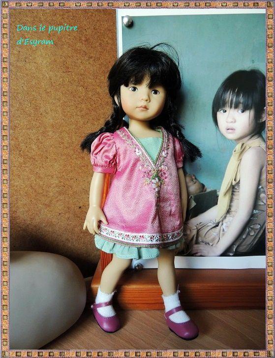 Li Ling est une petite Boneka du jeudi, devenue très rare !