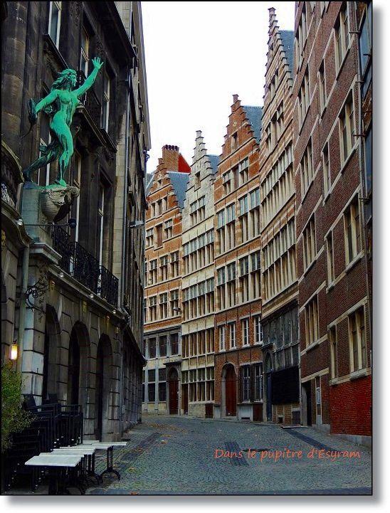 Suite de la balade à Anvers