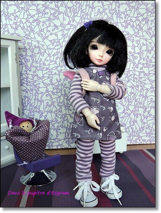Violette et le défi de janvier de Vaniline