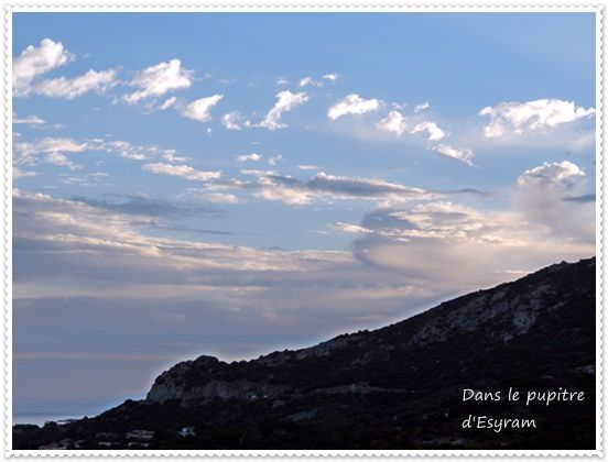 Les vacances Corses: 1 L'arrivée
