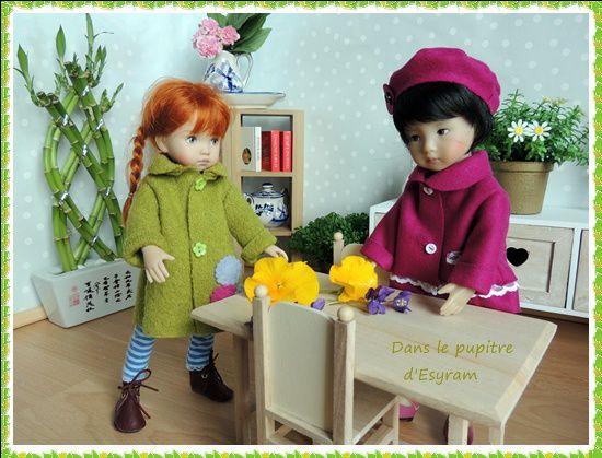 Les petits manteaux de Magda