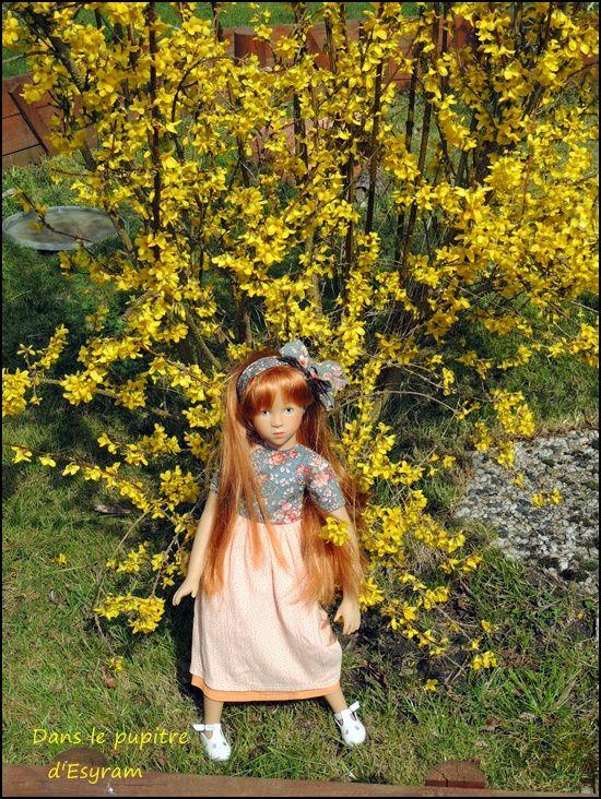 Adélaïde au jardin