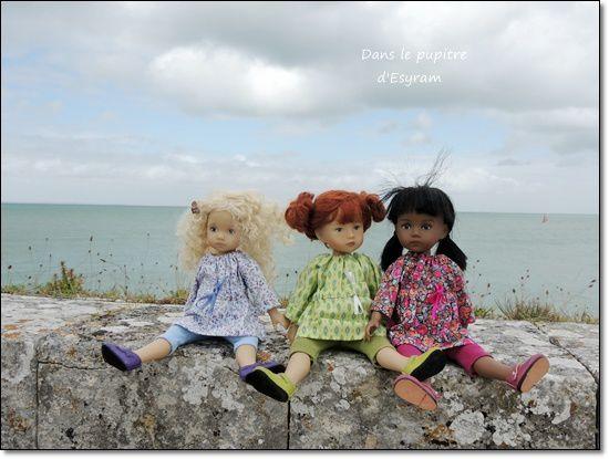 Les petites Miss en Charente Maritime (1) L'Île de Ré