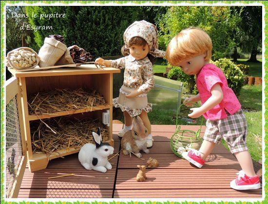 Le clapier des lapins fugueurs