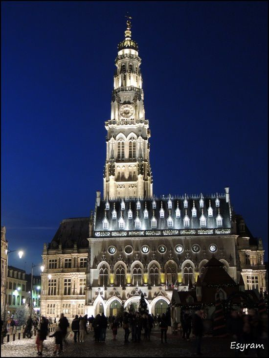 Arras, au temps des fêtes