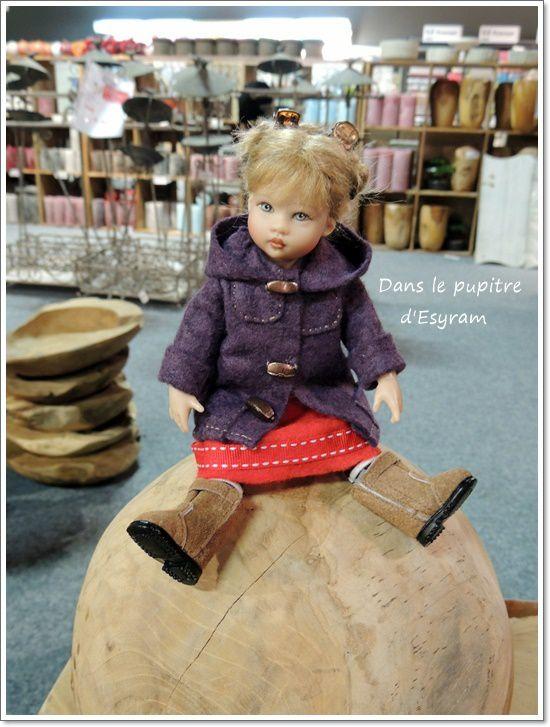Une petite Kish dans un magasin de porcelaine