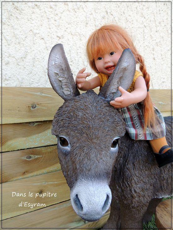 J'aime l'âne si doux ...
