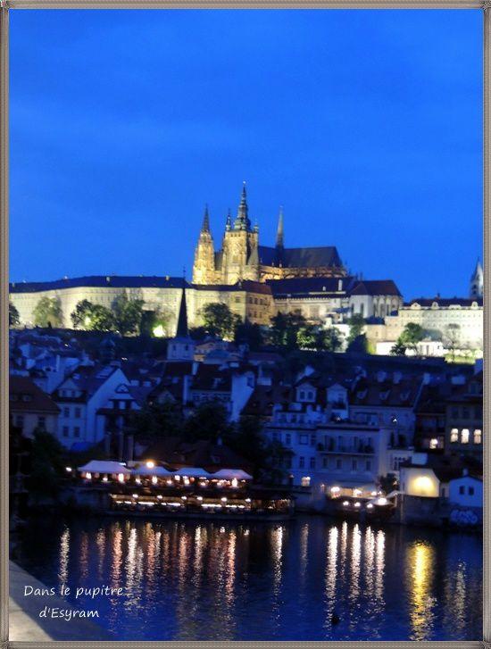 Dernier soir, Prague sous la pluie !