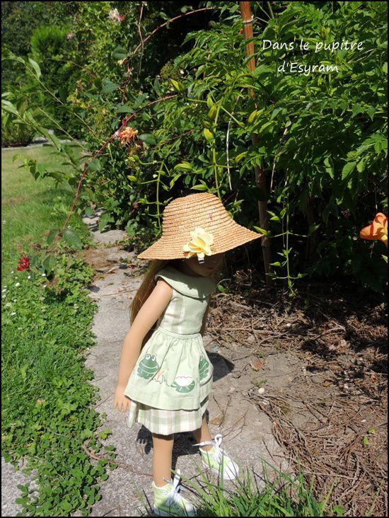 Le chapeau à fleur(s)
