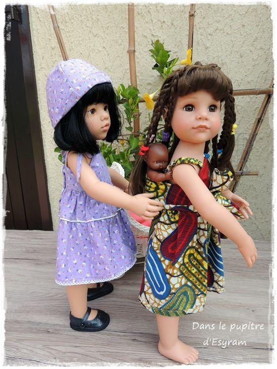 Emma-Li et Clem pouponnent