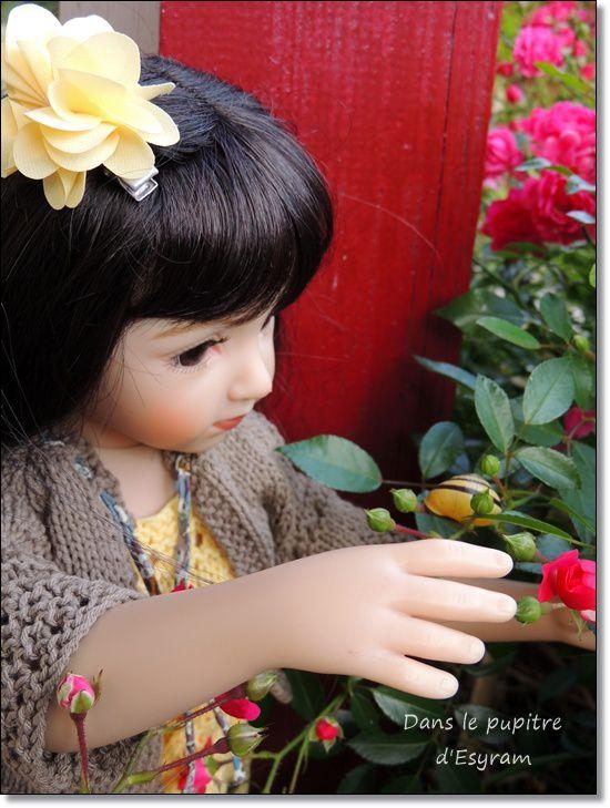 Des fleurs pour la Maîtresse