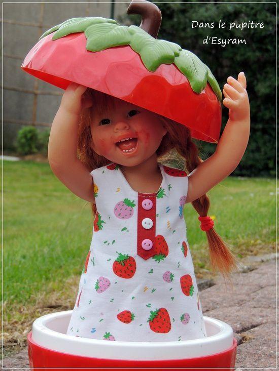 Linotte aux fraises