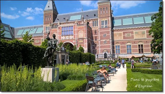 Léontine in Nederland 4 Rijksmuseum