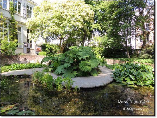 Léontine in Nederland 7 le jardin botanique