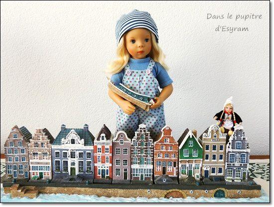 Léontine in Nederland 8 Marken