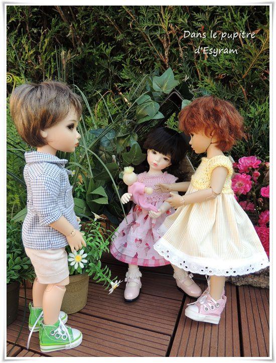 Rose fait connaissance avec ses cousins !