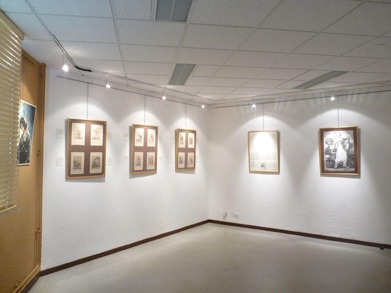 L'exposition mise en place par Excit'oeil dans la salle d'exposition de la Cité scolaire est prête à accueillir les visiteurs.
