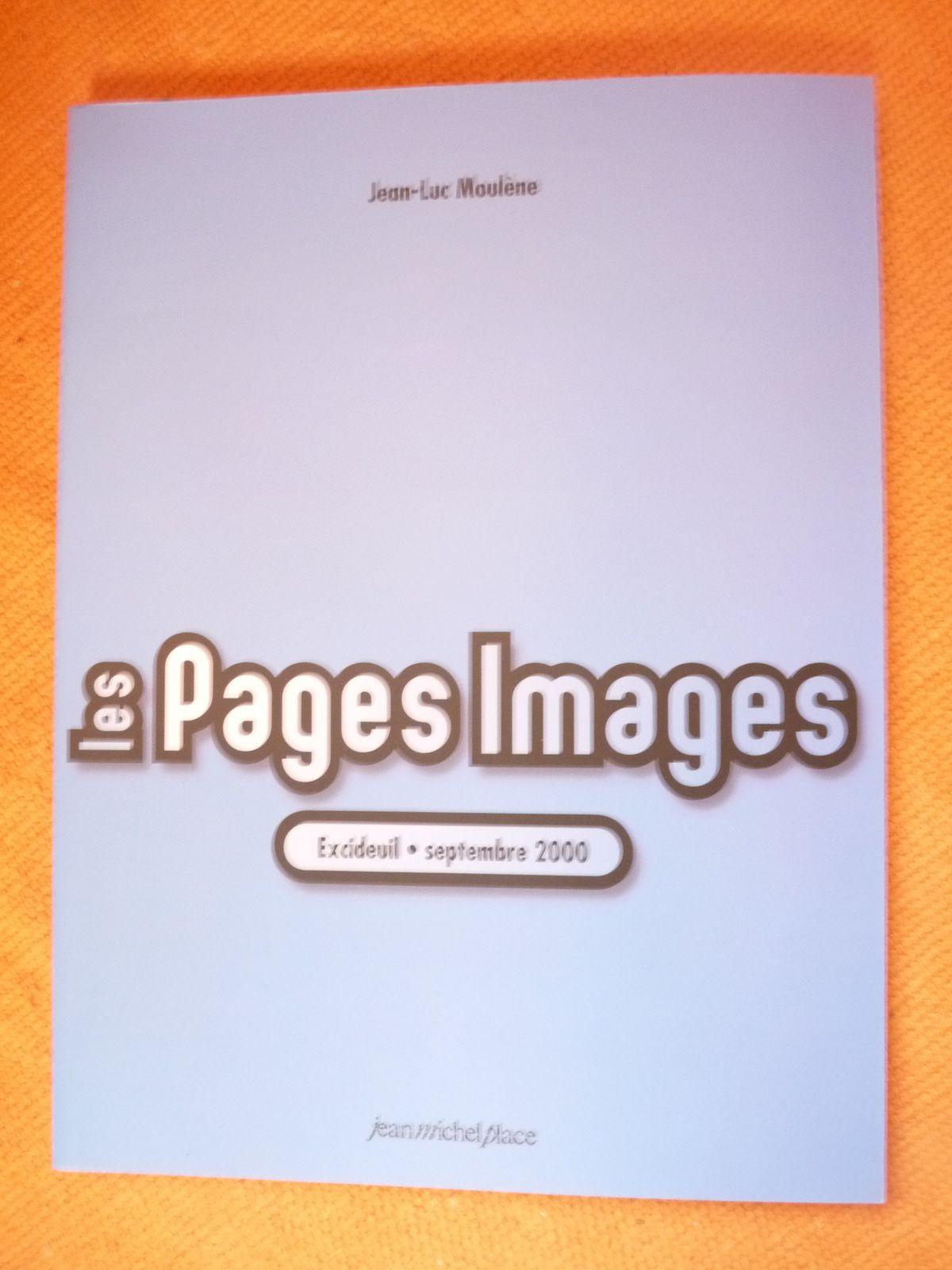 La couverture des Pages Images de Jean-Luc Moulène