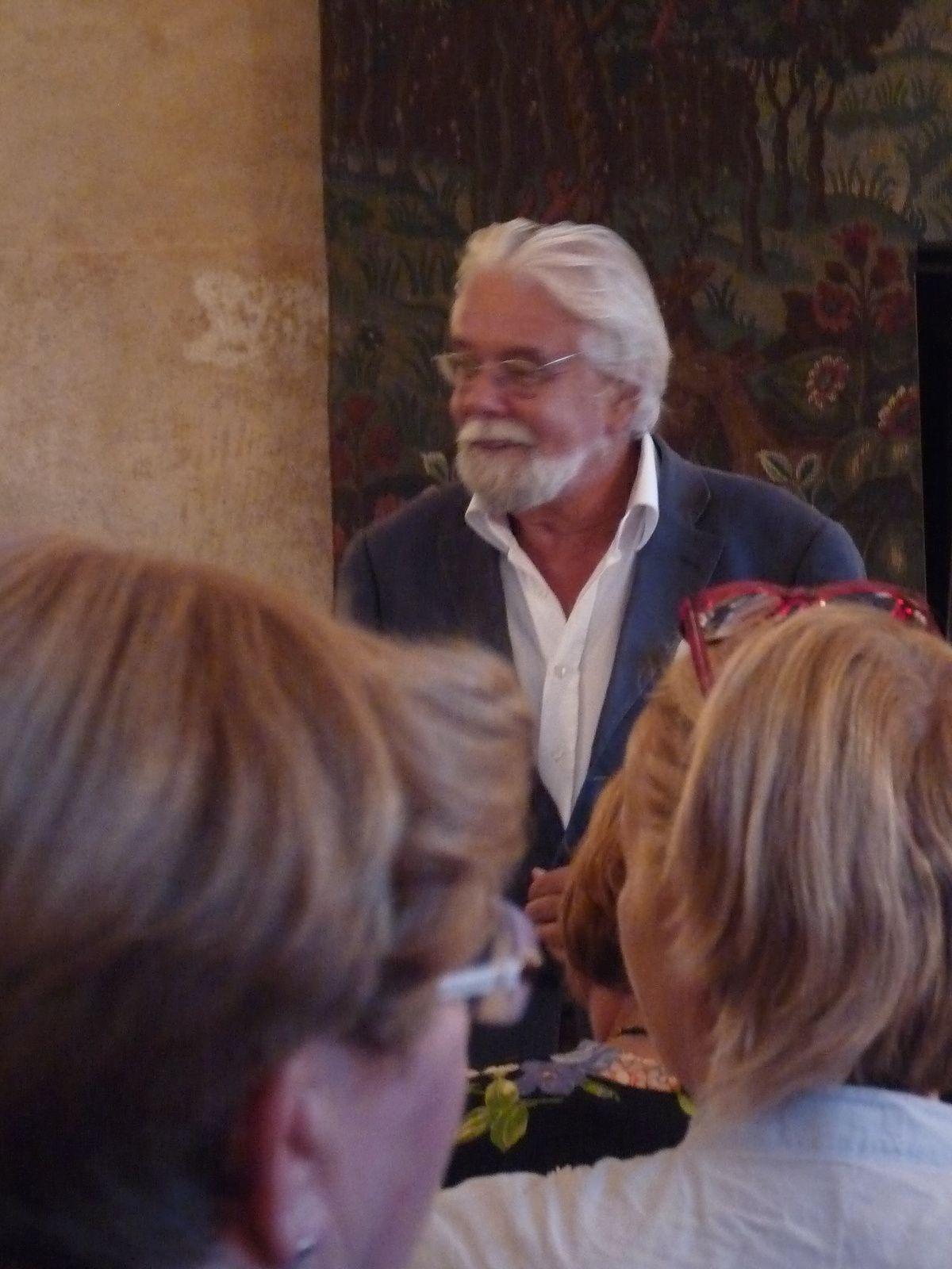 Dernier concert: Tom van der Bruggen ouvre la soirée.