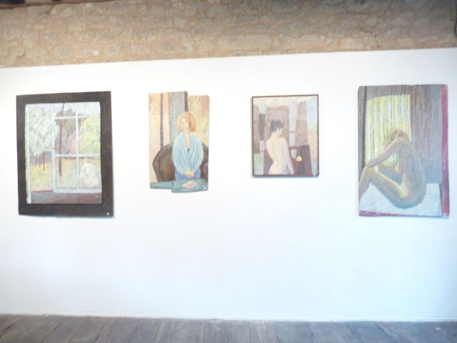 sculptures et peintures de Franck Jacquette, artiste professionnel. qui vit à Anlhiac (24160)