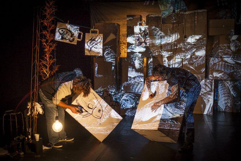 """""""CAPITALE VIENTIANE""""le mardi 8 mars à LANOUAILLE, dernier volet  du parcours artistique entrepris par LES VOIX DE L'HIVER avec la Cie OUÏE/DIRE"""