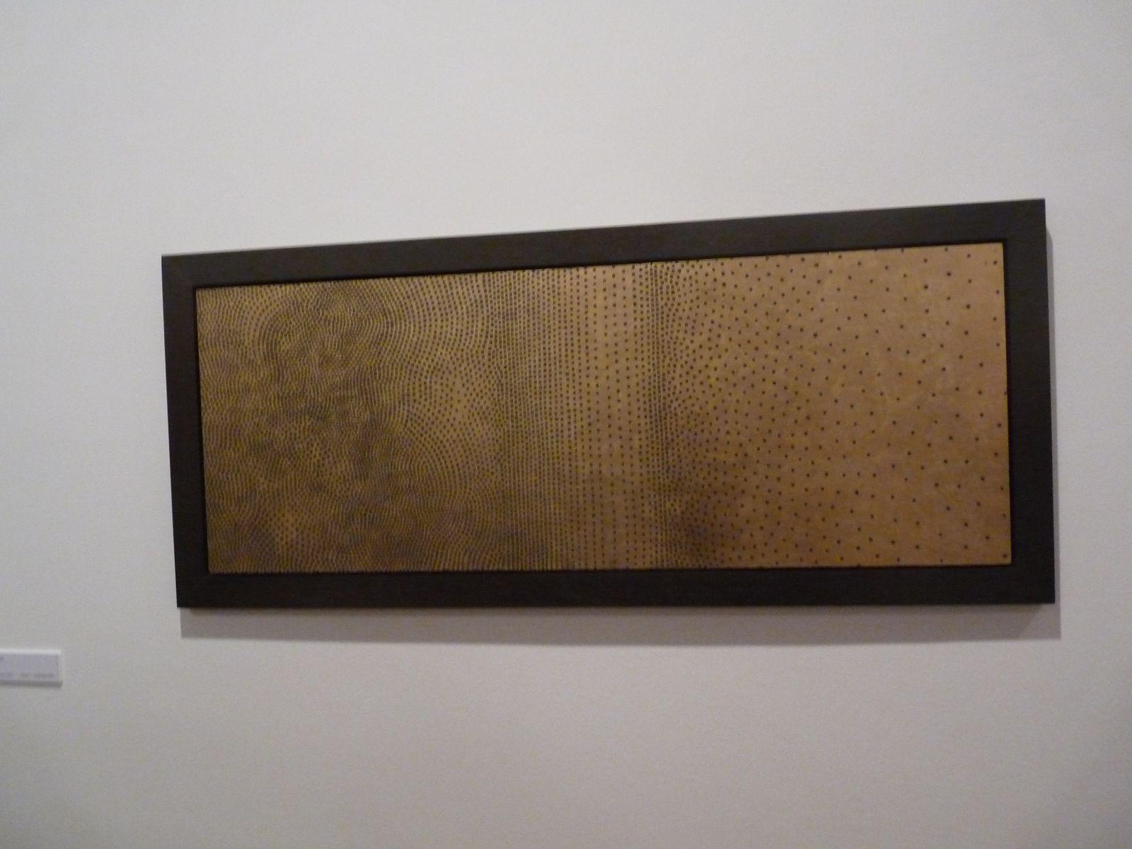 de haut en bas, oeuvres de Aude Arnold, Frédérique Bretin, Monif Ajaj